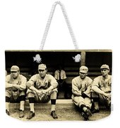Early Red Sox Weekender Tote Bag