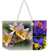 Early Spring Blossoms Weekender Tote Bag