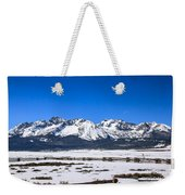Early Spring In The Sawtooth Weekender Tote Bag