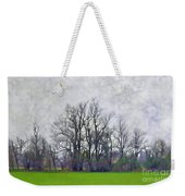 Early Spring Landscape  Digital Paint Weekender Tote Bag