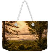Early Spring Rain Weekender Tote Bag