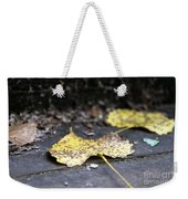 Early Start To Autumn Weekender Tote Bag