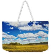 Early Summer Clouds Weekender Tote Bag