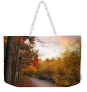 Early To Rise Weekender Tote Bag