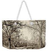 Early Winter Weekender Tote Bag
