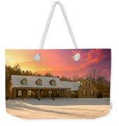 Early Winter Morning Weekender Tote Bag
