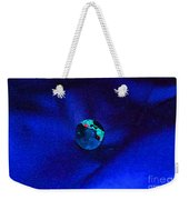 Earth Alone Weekender Tote Bag by First Star Art