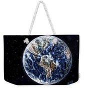 Earth Beauty Original Acrylic Painting Weekender Tote Bag