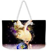 Earth Chick Weekender Tote Bag