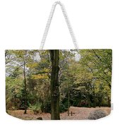 Earth Day Special - Bench In The Park Weekender Tote Bag