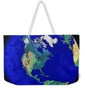 Earth From Space America Weekender Tote Bag