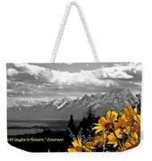 Earth Laughs In Flowers Weekender Tote Bag