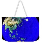Earth Seen From Space Australia And Azia Weekender Tote Bag