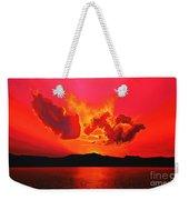 Earth Sunset Weekender Tote Bag