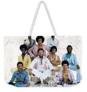 Earth Wind And Fire Autographed Photo Of Group Weekender Tote Bag