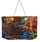 Earthy Abstract Weekender Tote Bag