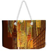 East 45th Street - New York City Weekender Tote Bag