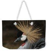 East African Crowned Crane 2 Painterly Weekender Tote Bag
