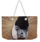 East African Crowned Crane 6 Weekender Tote Bag