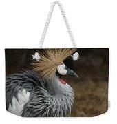 East African Crowned Crane Painterly Weekender Tote Bag