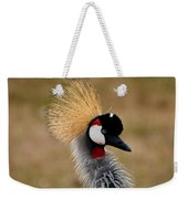 East African Crowned Crane Weekender Tote Bag
