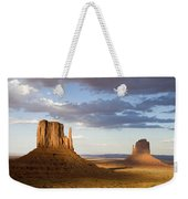 East And West Mittens Monument Valley Weekender Tote Bag
