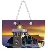 East Brother Lighthouse Weekender Tote Bag
