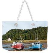 East Coast Low Tide Scene Weekender Tote Bag