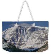 1m3743-east Face Mt. Kitchener With Cloud Weekender Tote Bag