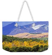 East Glacier Fall Weekender Tote Bag
