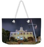 East Greenwich Town House At Night Weekender Tote Bag