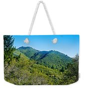 East Peak Of Mount Tamalpias-california Weekender Tote Bag
