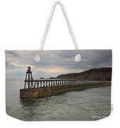 East Pier Whitby Weekender Tote Bag
