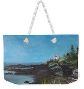 East Quoddy Head Lighthouse Weekender Tote Bag