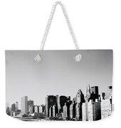 East River New York Weekender Tote Bag