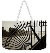 East River Spoke - New York City Weekender Tote Bag