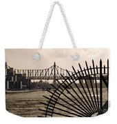 East River View Weekender Tote Bag
