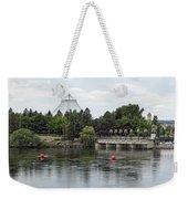 East Riverfront Park And Dam - Spokane Washington Weekender Tote Bag