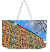 East Village Buildings On East Fourth Street And Bowery Weekender Tote Bag