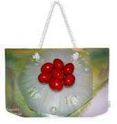 Easter And Red Eggs Weekender Tote Bag