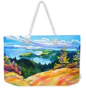 Easter Bluff View Weekender Tote Bag