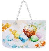 Easter Colors Weekender Tote Bag