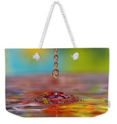 Easter Drop Water  Weekender Tote Bag