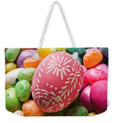 Easter Egg And Jellybeans  Weekender Tote Bag