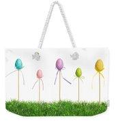 Easter Eggs In Grass Weekender Tote Bag