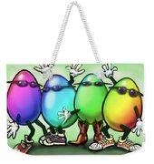 Easter Eggs Weekender Tote Bag