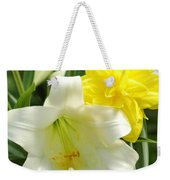 Easter Flowers Weekender Tote Bag