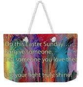 Easter Inspiring Digital Painting Weekender Tote Bag