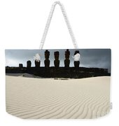 Easter Island 9 Weekender Tote Bag