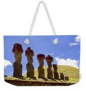 Easter Island Statues  Weekender Tote Bag